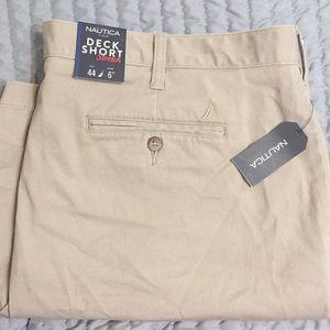 NWT Nautical Deck Short Khaki